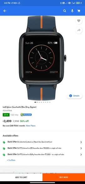 Boat Xplorar smart watch