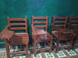 20 school/institute chairs in good condition