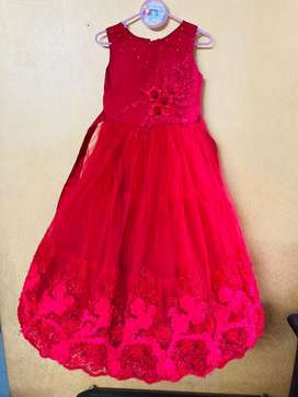 Red party Gown