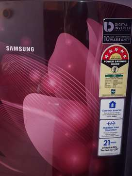 #New samsung digital inverter refrigerator.