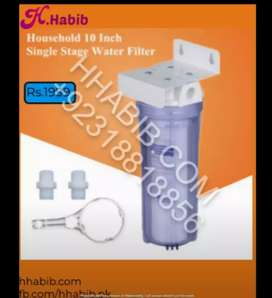 Non-Electric - Single Stage Water Filter System For Home -Complete Kit