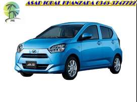 Get daihatsu Mira 2018 on installment