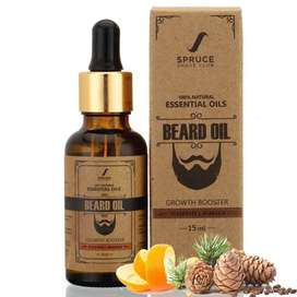 Spruce Shave Club Beard Growth Oil (15ml) - Cedarwood & Mandarin - 9 N