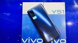 Vivo y51 8/128 blue segel garansi resmi