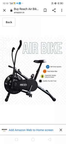 Exercise cycle (home delivery available)