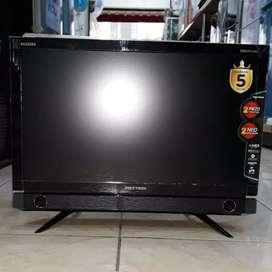TV LED 23 POLYTRON BAZZOKE SUARA BASS fullhd movies gambar tajam kalii
