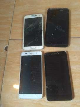 Samsung asus borong hp rusak lcd dan kesing