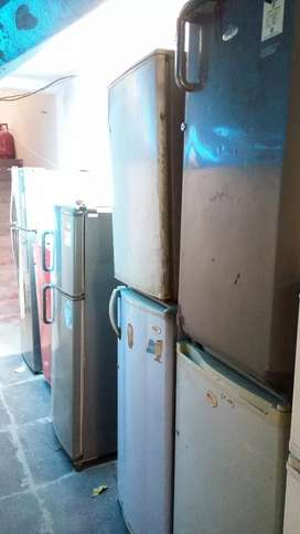 Used Fridge Chalu Condition Me Warranty Ke Saath