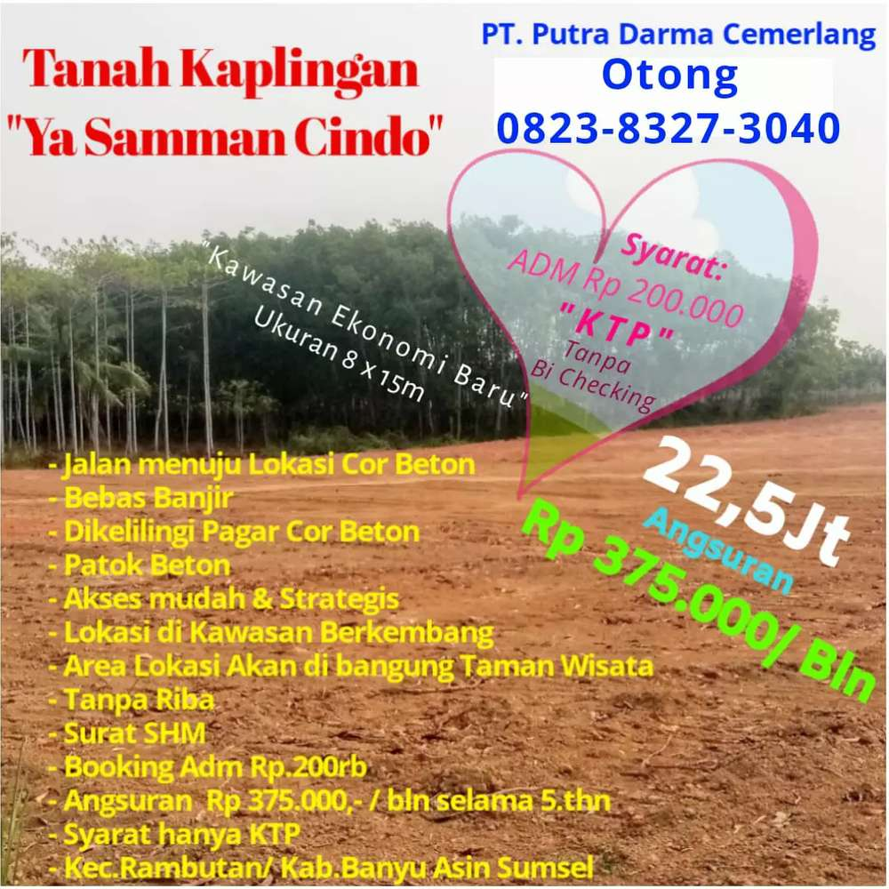 tanah kapling tanah murah tanah kaplingan siap bangun