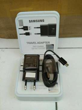 Charger Samsung Galaxy S8 S9 Note 8 A5 A7 2017 Original Fast Charging