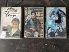 3 cassette Dewa 19 ,Crisye, Henry Surentu.