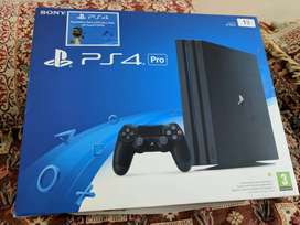 PS4 slim (1 TB & 1 controller ) with box packing