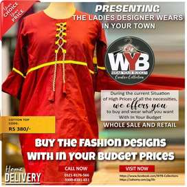 Ladies branded wear by WYB in Quetta and all over Pakistan