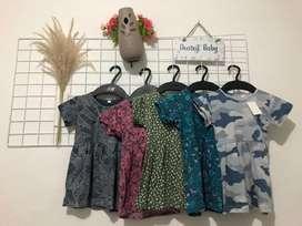 Dress anak umur 0-3 tahun
