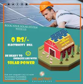 Solar Rooftop system with government subsidies. Hurry up for booking.