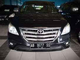 Toyota kijang Innova G diesel Automatic th 2015 Plat AB
