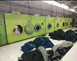 Take over usaha laundry /jual pabrik laundry