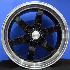 jual velg type GLOCK L1155 HSR Ring.20 Lebar.9,5 PCD.6X139,7 ET.20  BL