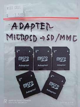 Adapter Adaptor Kartu Memory microSD ke SD