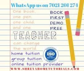 shreya home tutorials require tutor for mumbai operations