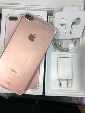 Iphone 7 plus 128gb rosegold resmi ibox