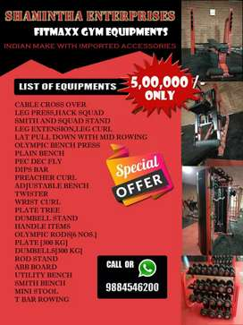 Gym use equipments new order based