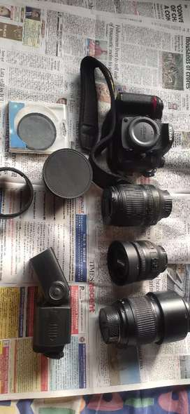 Nikon D7000 Dslr for sale with Lens and accessories.