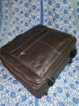 Genuine Leather Laptop/Travel Bag