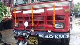10 wheeler truck,manufacturer Tata,year of manufacture 2007