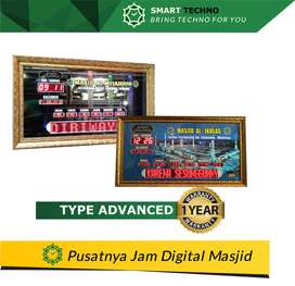 Sedia Jam Digital Masjid Area Sarudik