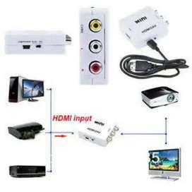 HDMI Rca Televisi Tambahan