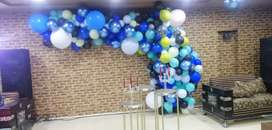 Balloons decorations for birthday and anniverdary  4500