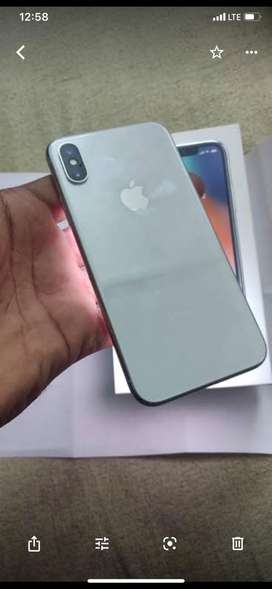 Apple iPhone X 64 Silver 3 month warranty