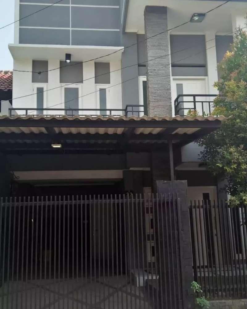 rumah dua lantai daerah nginden strategis murah