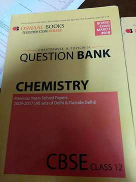 Oswaal Question bank Chemistry