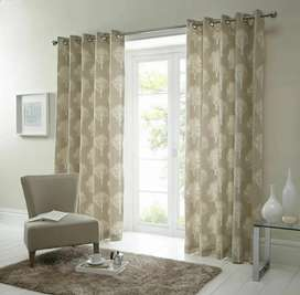 CURTAINS, LINING, DUST PROOF SIZE OF ONE PANEL 66×72 INCHES