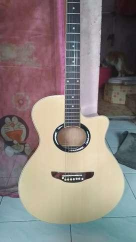 Gitar akustik custom model yamaha apx mulus bgd nominus
