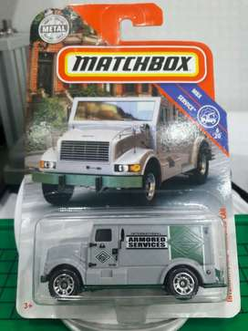 mtchbox mbx international armored car bukan hotwheels hot wheels