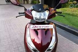 Brand new scooty with paper with bill every thing