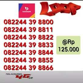 Nomor nomor cantik pilihan Telkomsel