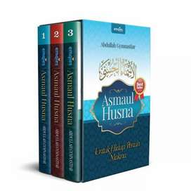 MQ BUKU AA GYM Asmaul Husna untuk Hidup Penuh Makna 3 Jilid