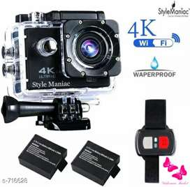 Modern waterproof sports action camera