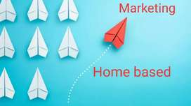 Home based Marketing interested candidates only apply