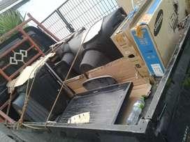 Trima barang bekas rongsokan tv tabung led lcd ac kulkas dll