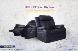 2096 Manual Recliner with swivel(High Life)