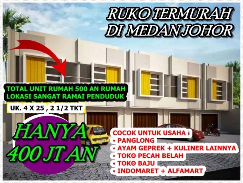 Ruko Cantik dipinggir Komplek Taman Deli Johor 0
