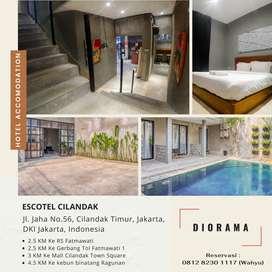 Hotel Penginapan Harian Cilandak Jakarta Selatan