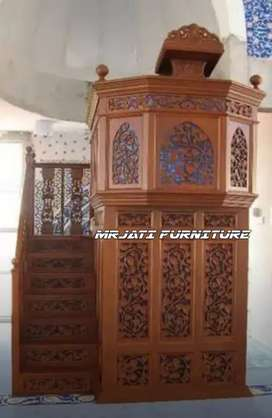 MIMBAR MASJID UKIRAN @mrjati_furniture jumbo