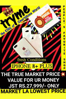 TRYME 64Gb IPHONE 8+,Plus Neet Conditions
