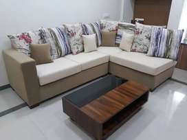 Newly made sofa  l shape pattern  direct from manufacture